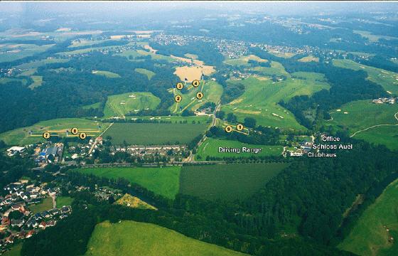 9 Loch Golfplatz auch für Fernmitglieder